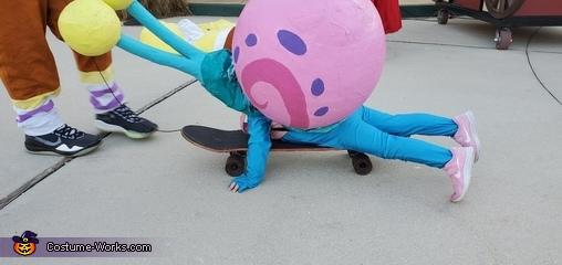 Gary the Snail Homemade Costume
