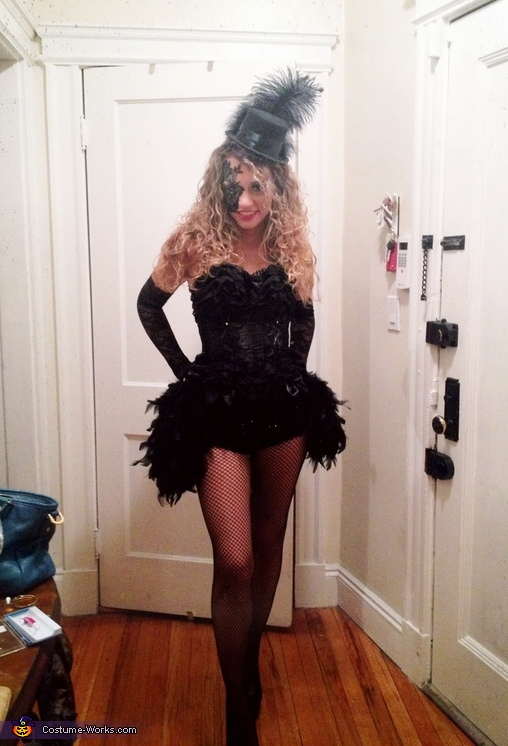 Gatsby Burlesque Costume
