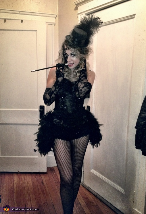 Gatsby Burlesque Homemade Costume