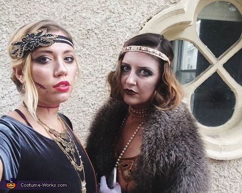 with gatsby zombie friend, Gatsby Zombie Costume
