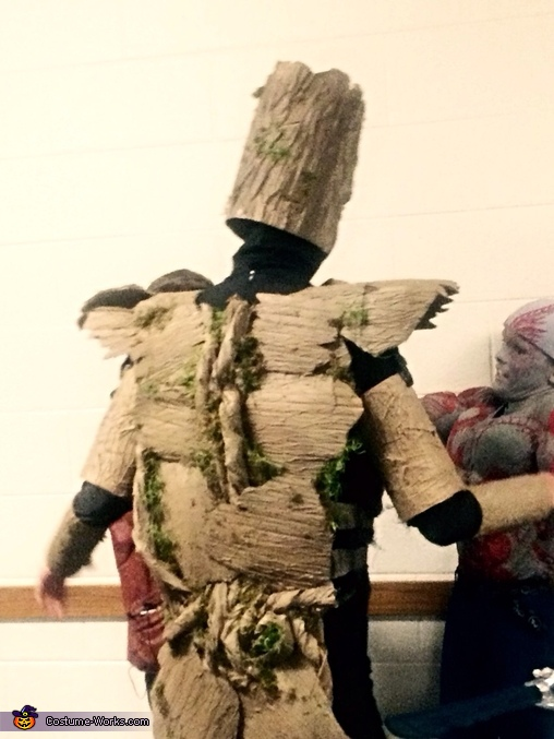 Groot back, Guardians of the Galaxy Family Costume