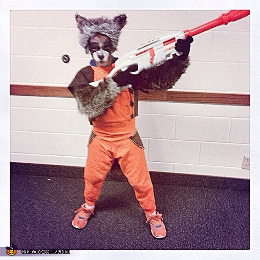 Rocket Raccoon , Guardians of the Galaxy Family Costume