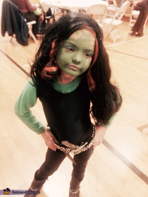 Gamora , Guardians of the Galaxy Family Costume