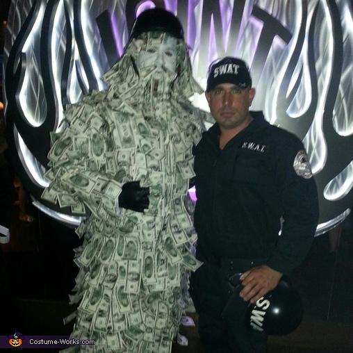 Geico Money Guy Homemade Costume