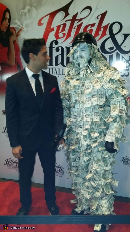Geico Money Guy Homemade Costume