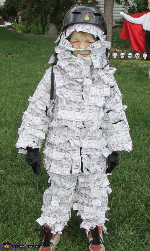 Geico Money Man Costume
