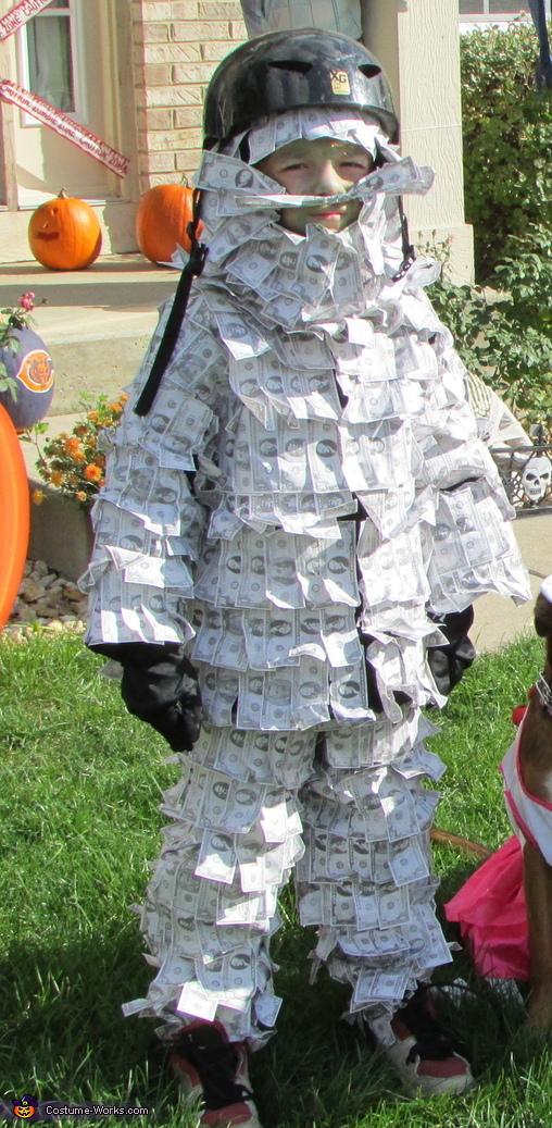 Geico Money Man, Geico Money Man Costume