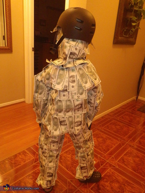 GEICO Money Man Homemade Costume