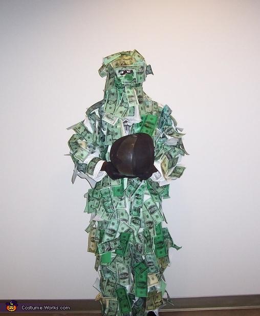 Geico Money Motorcycle Man Costume