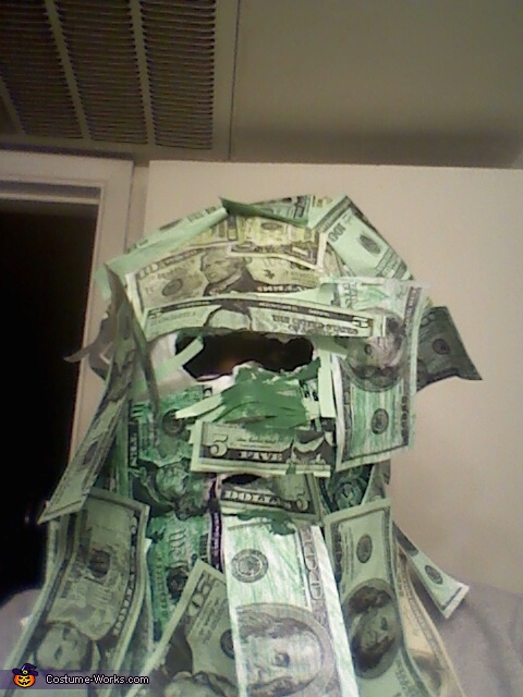 Geico Money Motorcycle Man Costume