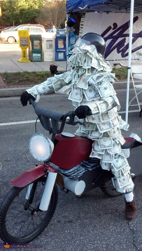 Geico Money Man Costume