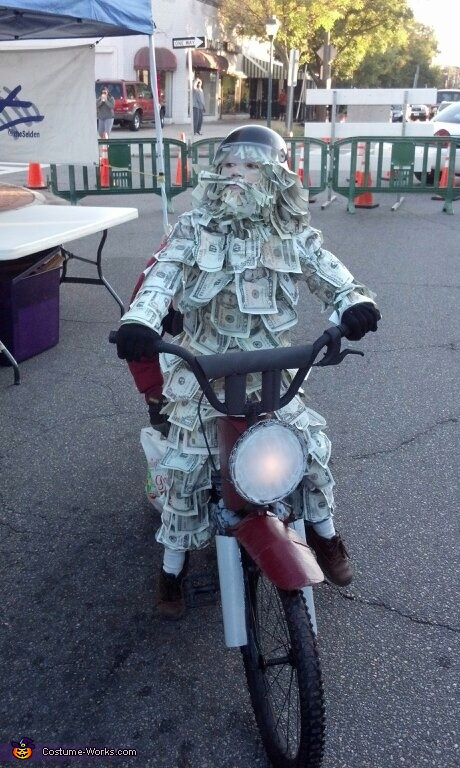 Gieco Moneyman , Geico Money Man Costume
