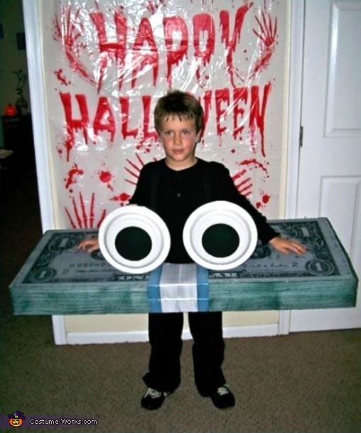 GEICO Money with Eyes  Costume