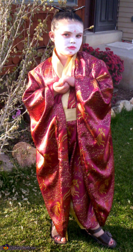 Geisha - Homemade costumes for girls