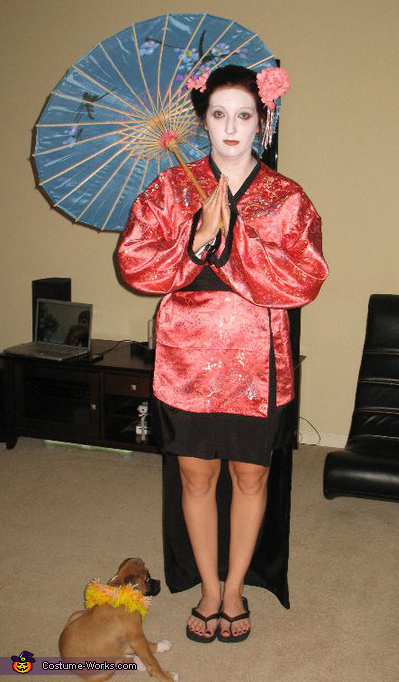 Geisha - Homemade costumes for women