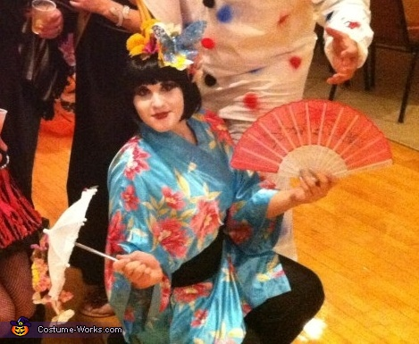 geisha girl, Geisha Girl Costume