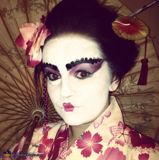 Geisha Girl Homemade Costume