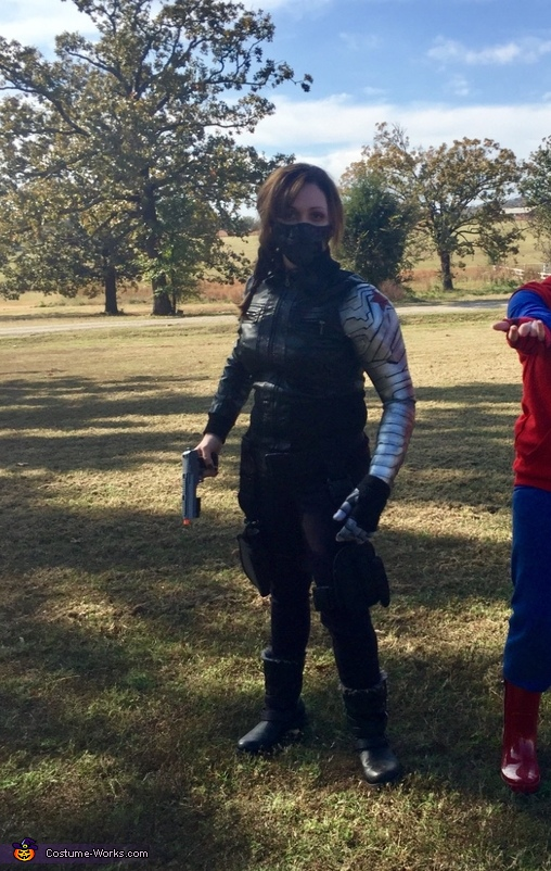 Gender-Bent Marvel's Winter Soldier Homemade Costume