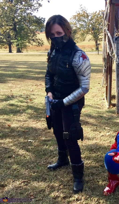 Gender-Bent Marvel's Winter Soldier Costume