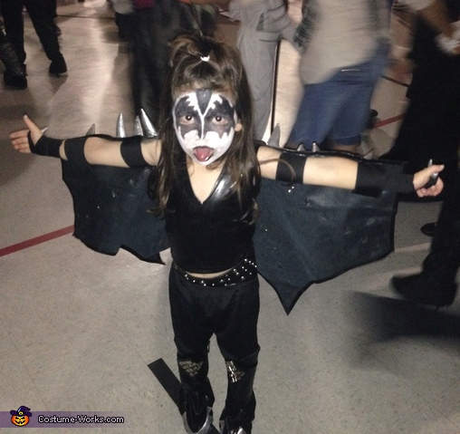 Gene Simmons Homemade Costume