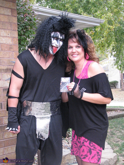 Gene Simmons and Groupie Costume