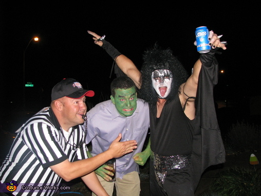 GENE, Gene Simmons and Groupie Costume