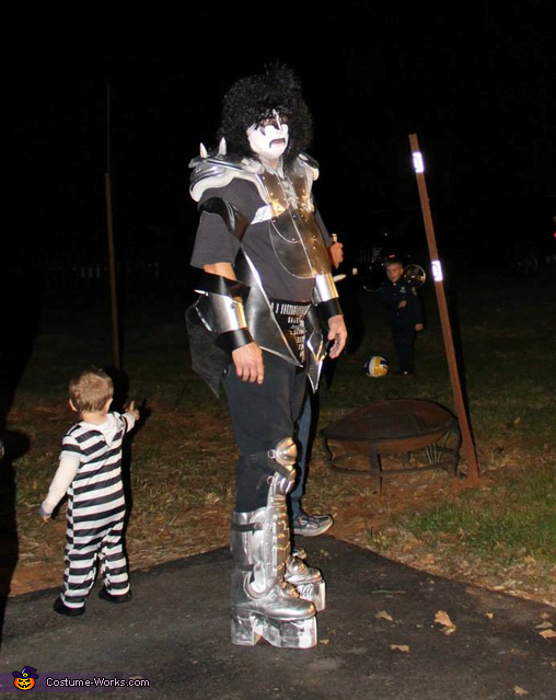 Gene Simmons from KISS Homemade Costume