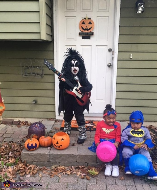 Gene Simmons, The Demon Costume