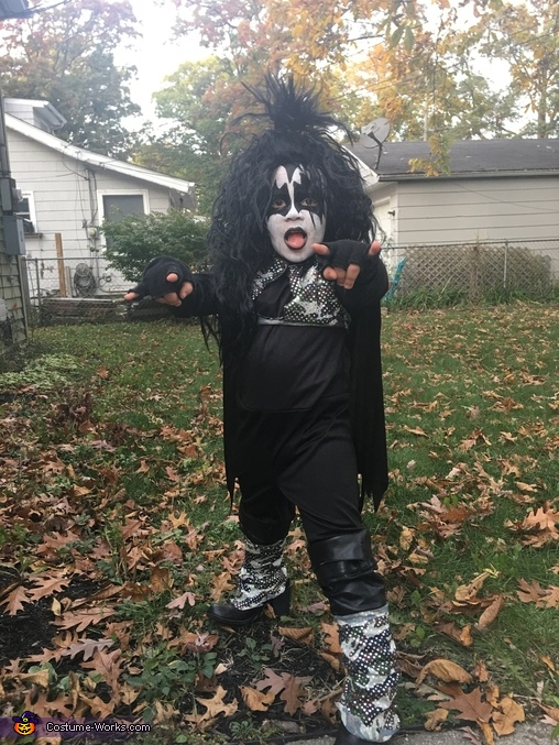 Noah wants to Rock and Roll All Nite, Gene Simmons, The Demon Costume