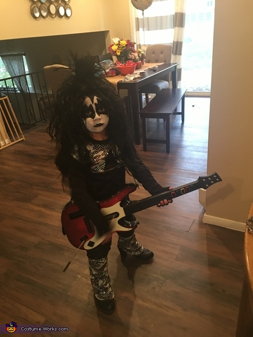 He was made for loving this costume, Gene Simmons, The Demon Costume