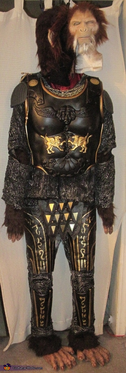 Full front , General Thade Costume