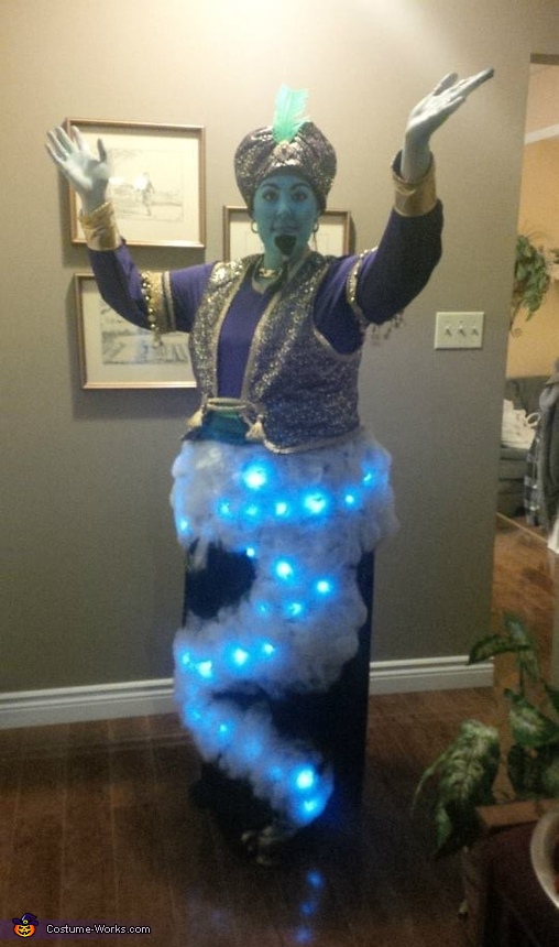 Creative DIY Genie Costume - Photo 3/3