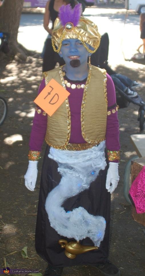 Genie in a Lamp Costume