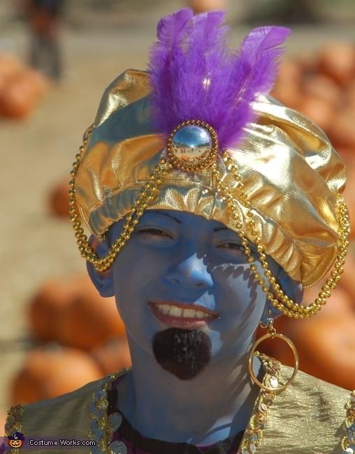 Genie in a L& Homemade Costume & Genie in a Lamp Costume - Photo 2/3