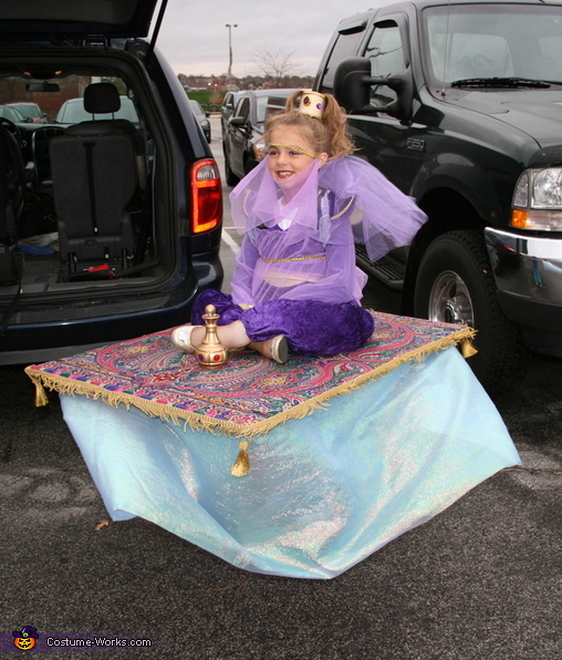 Genie on a Magic Carpet Costume