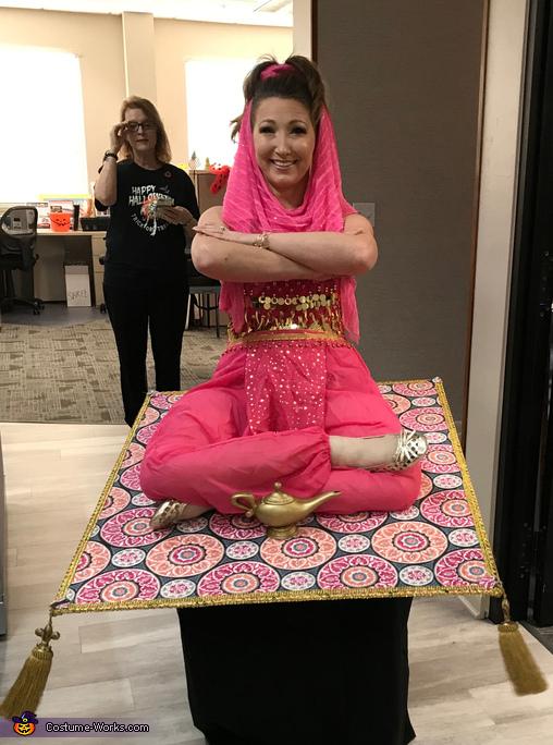 Make a wish, Genie on a Magic Carpet Costume