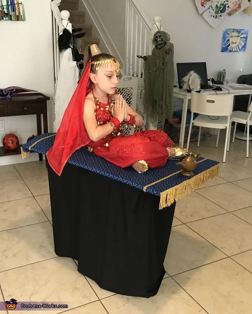 Genie on a Magic Flying Carpet Costume