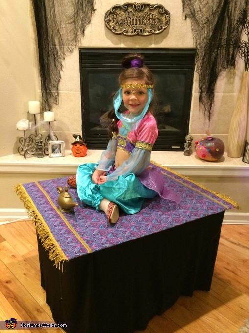 Genie on her Magic Carpet Costume