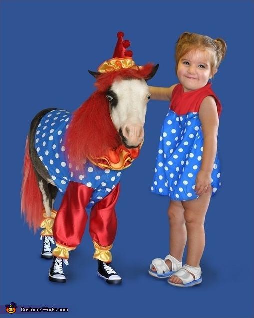 Tiny Horses in Halloween Costumes