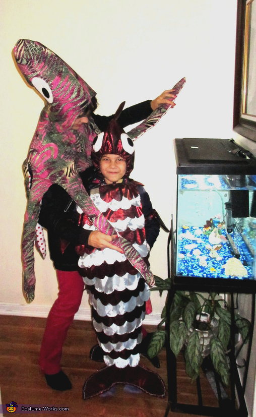 Gentle Giant Octopus and Slippery Fish Costume