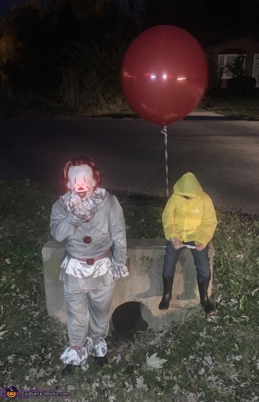 Georgie and IT Costume