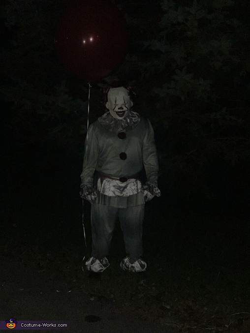 He looking for you !, Georgie and IT Costume