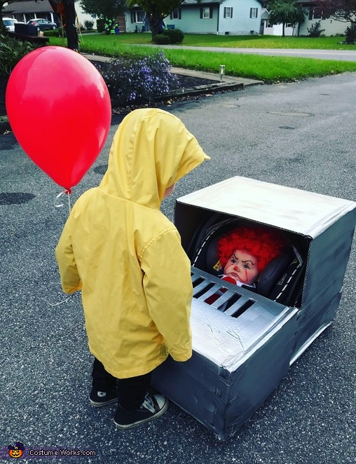 Georgie and Pennywise Costume