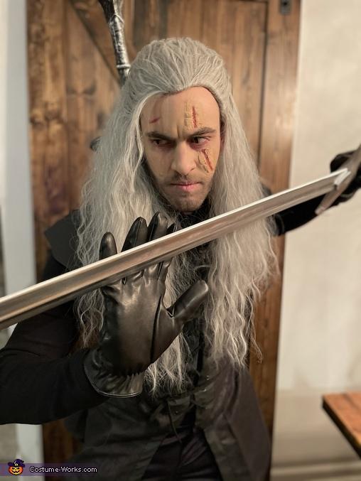 Geralt of Rivia & Yennefer of Vengerberg Homemade Costume