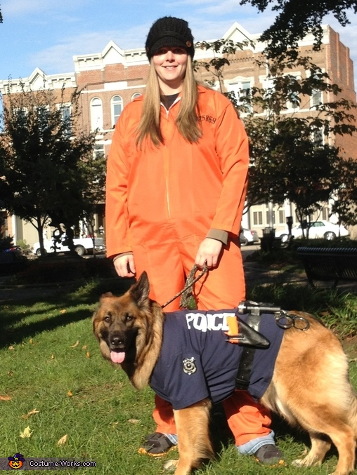German Shepherd Police Dog Costume