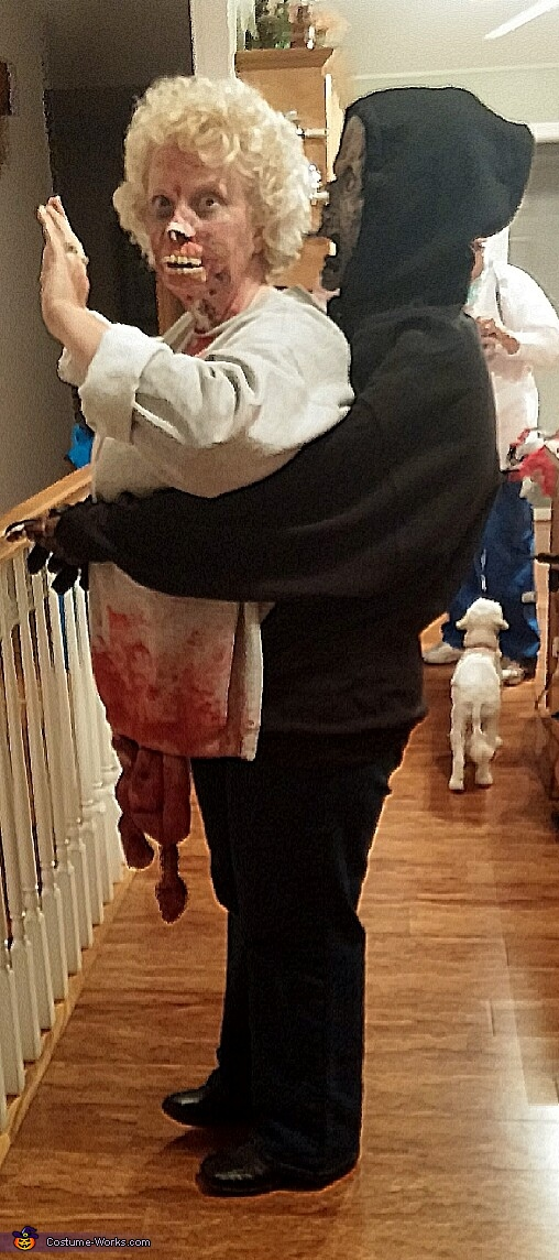 Getting Carried Away Zombie Costume