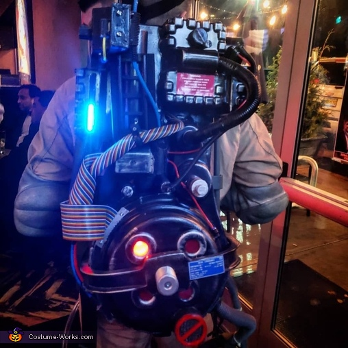 Ghosbusters Homemade Costume