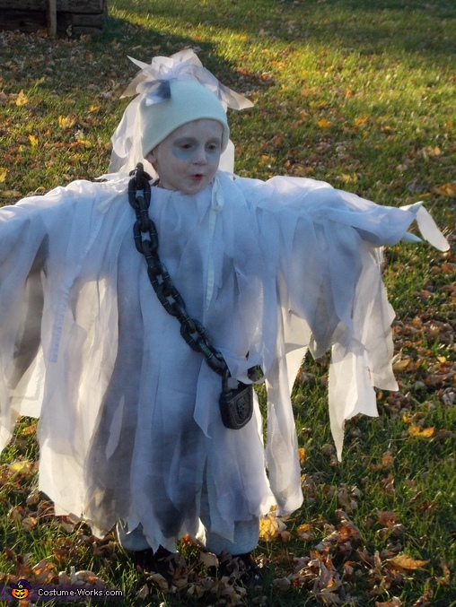 Ghost Boy Costume
