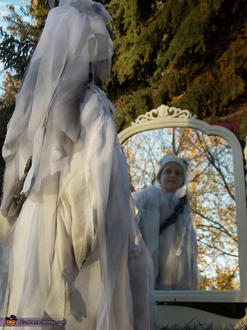Ghost Boy Homemade Costume