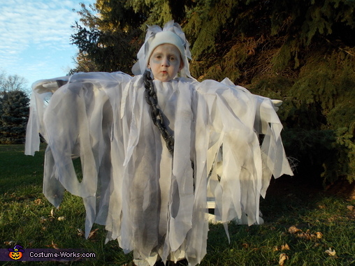 Ghost Boy Homemade Costume